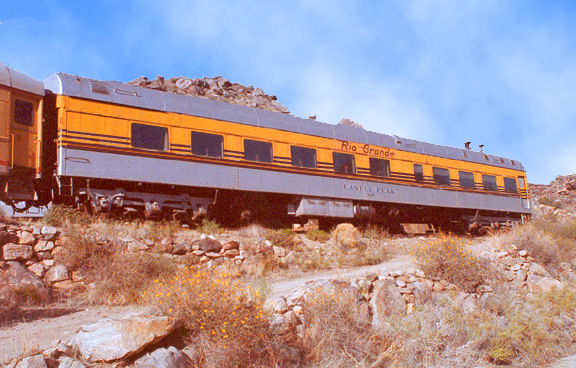"Dining Car ""Castle Peak"""